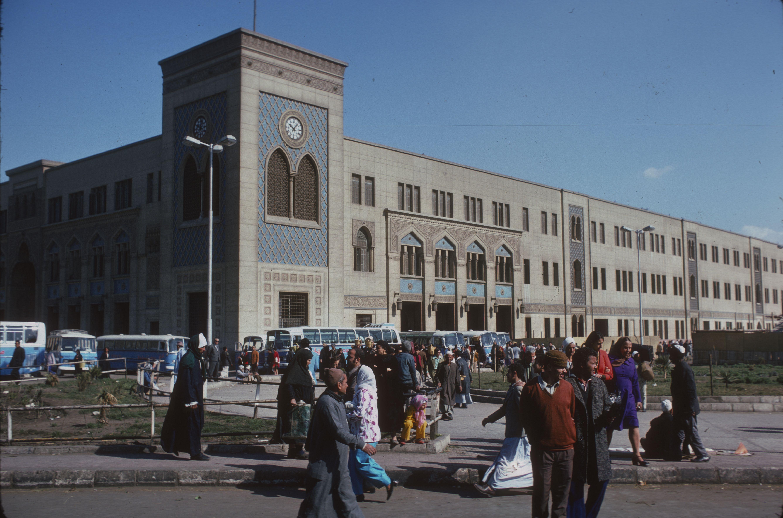 Ägypten, Bahnhof Kairo