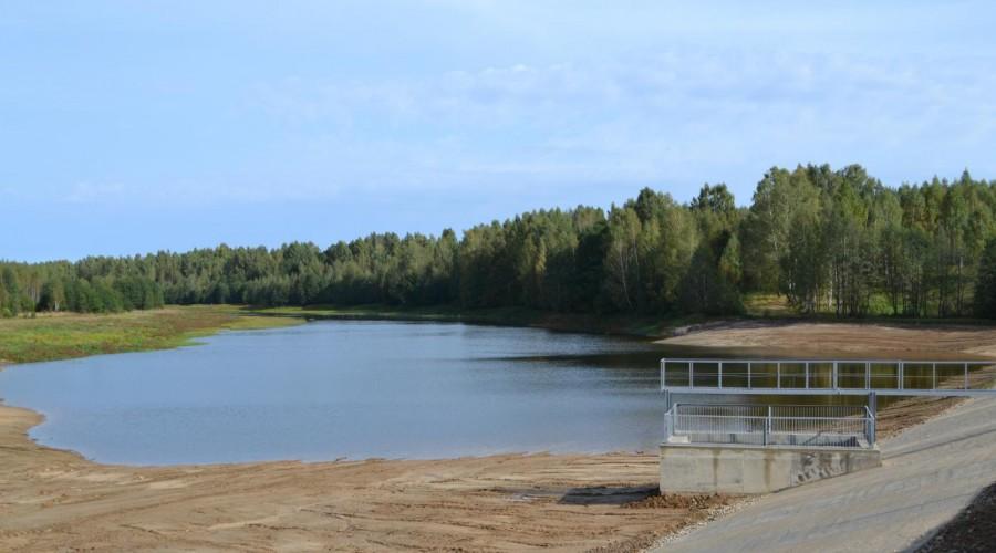 В Куйбышевском районе сдано в эксплуатацию гидротехническое сооружение