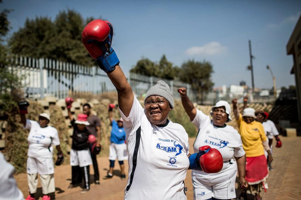 Бабушки-боксерши из Южной Африки