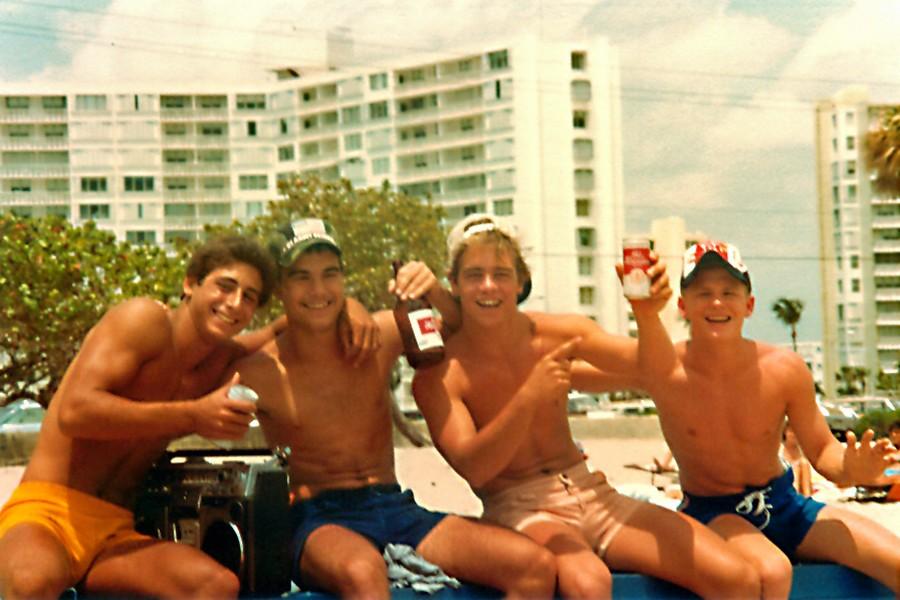 Пляжи Флориды в начале 1980-х годов