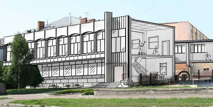 архитектурное проектирование общественных зданий