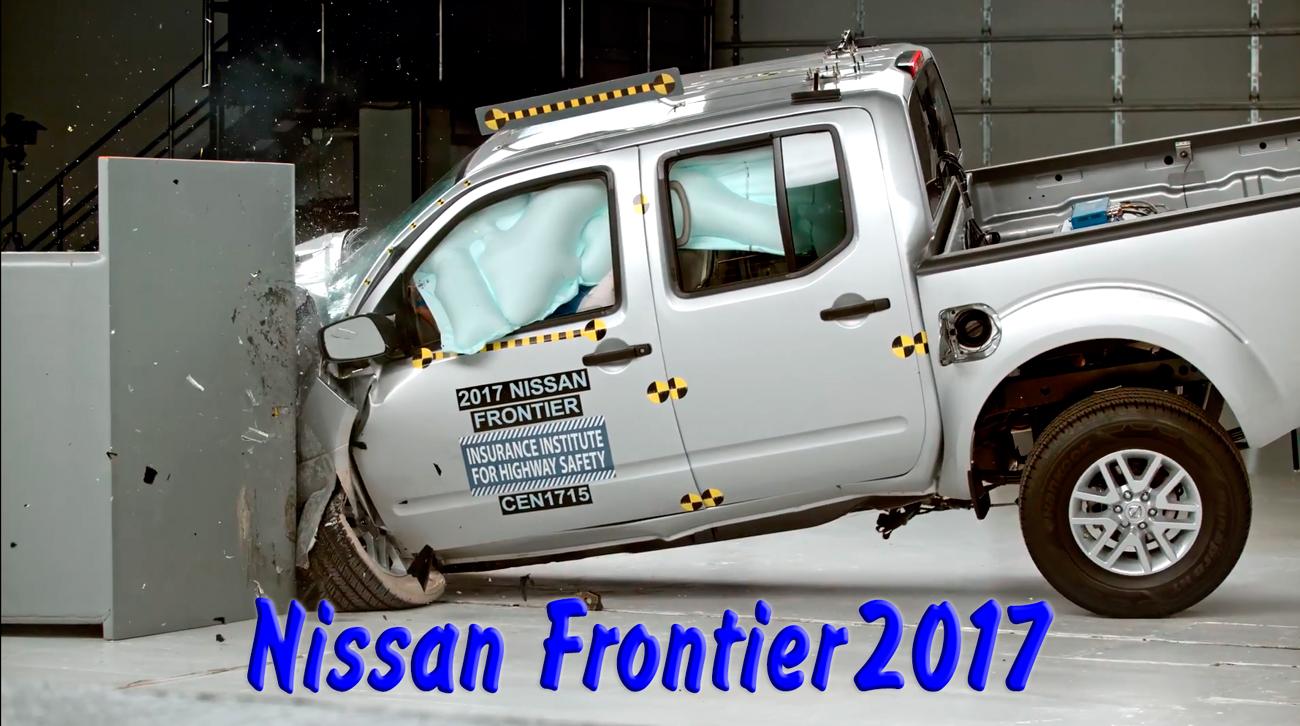 Полный краш тест Nissan Frontier 2017