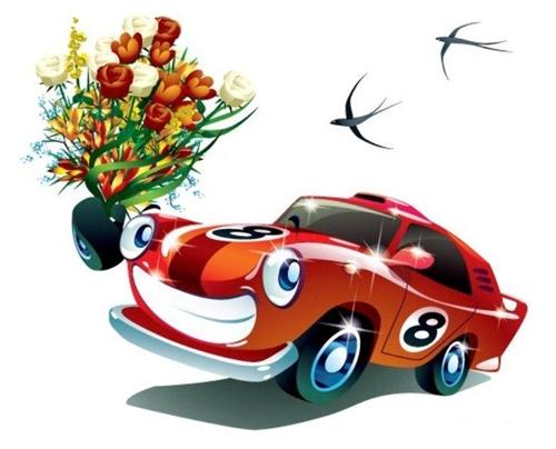 Открытки. День автомобилиста! Поздравляю вас с праздником!