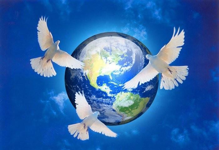 21 сентября - Международный день мира. Голуби