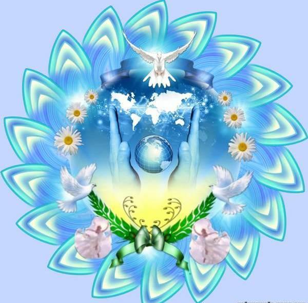 Международный день мира. Голубь