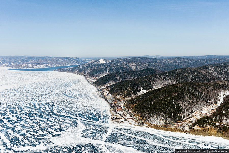 Самая западная точка Байкала: