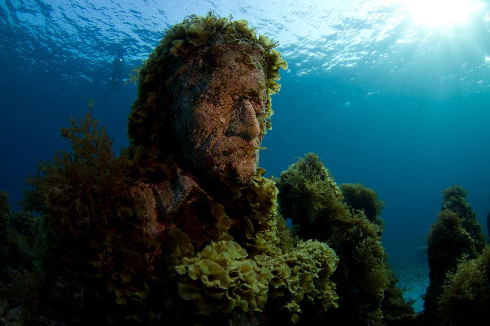 Эта статуя Христа 25 августа 1965 года украсила риф возле острова Ки Ларго во Флориде. Популя