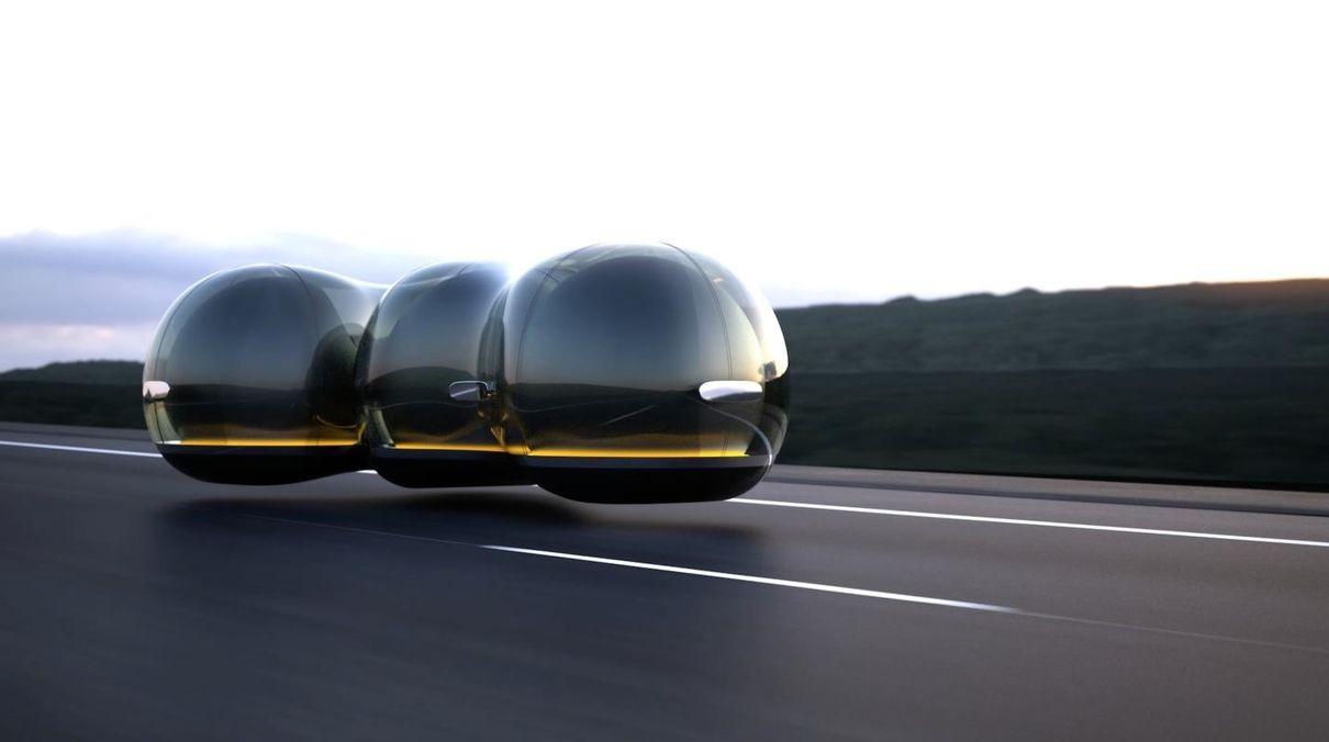Робомобиль на воздушной подушке победил в конкурсе Renault