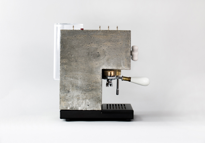 Anza Espresso Brutalist Machine