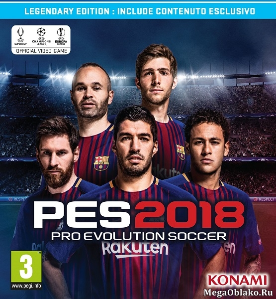 PES 2018 / Pro Evolution Soccer 2018: FC Barcelona Edition (2017) PC   RePack от xatab