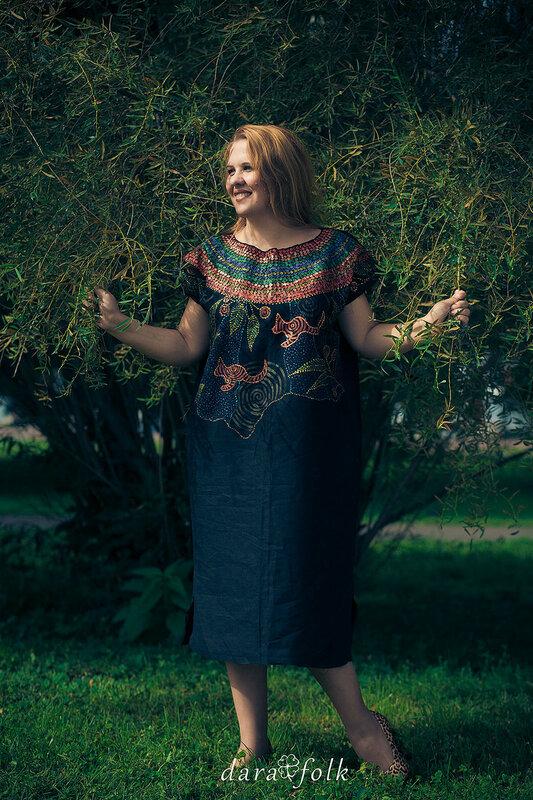 Одежда с этническими мотивами от Дарафолк.