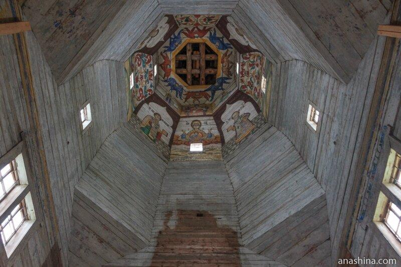 Свод Тихвинской церкви, Торжок