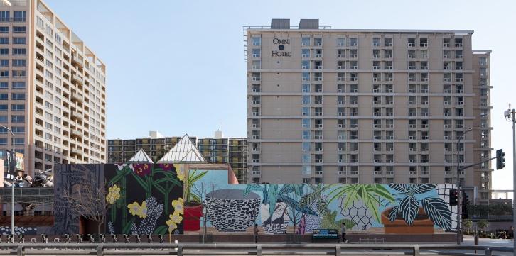 Showing: Jonas Wood Mural @ MOCA (Los Angeles)