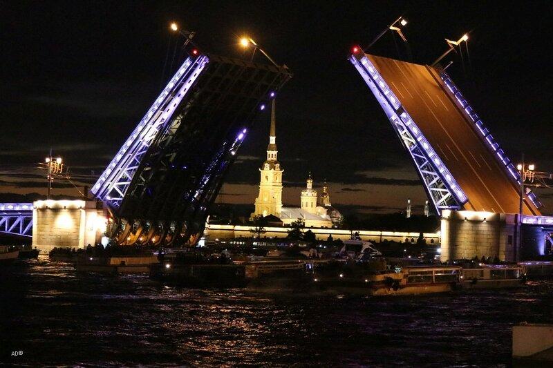 Санкт-Петербург 2017 - Развод мостов