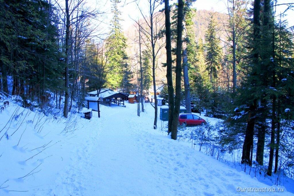 Зимой в Словакию