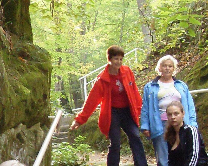 Нина Левада, октябрь 2009, Горячий Ключ и его окрестности, поездка на КСП (2).JPG