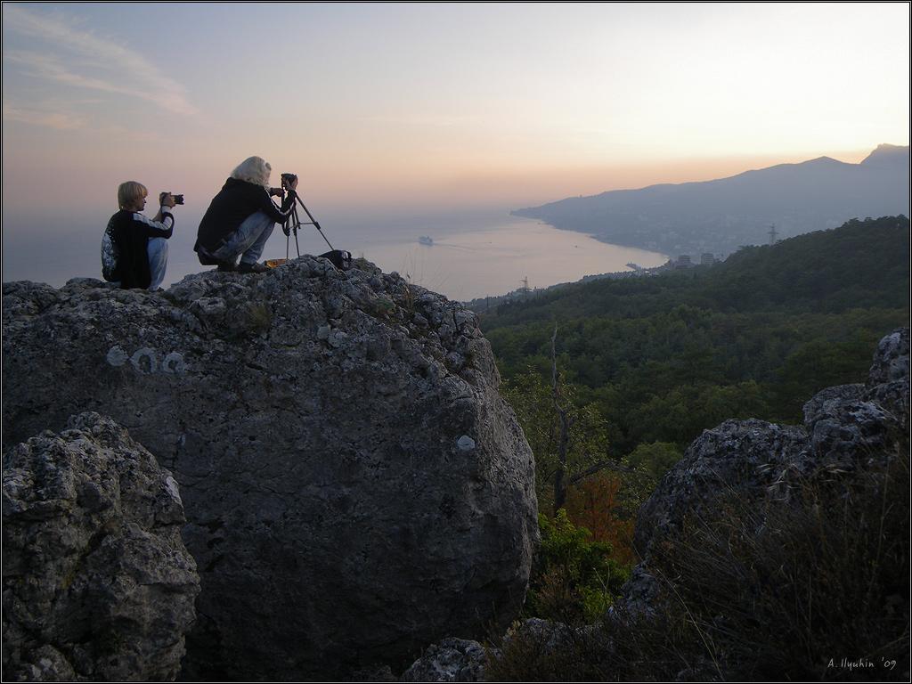 С видом на Ялту