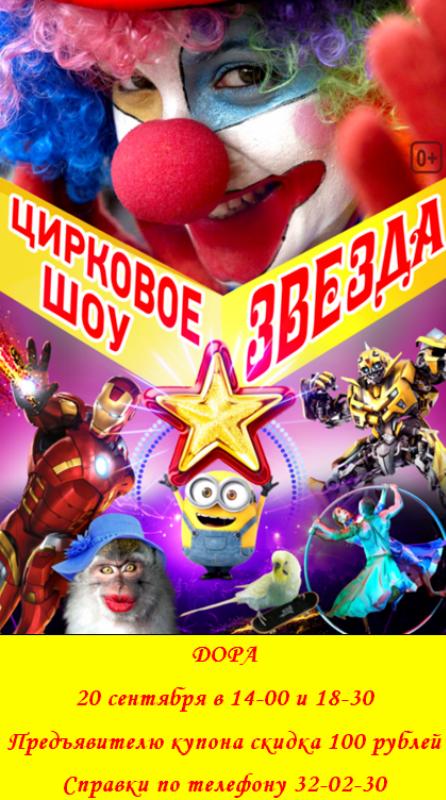 цирковое шоу Звезда