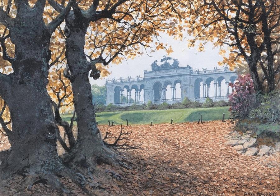 The Gloriette in autumn