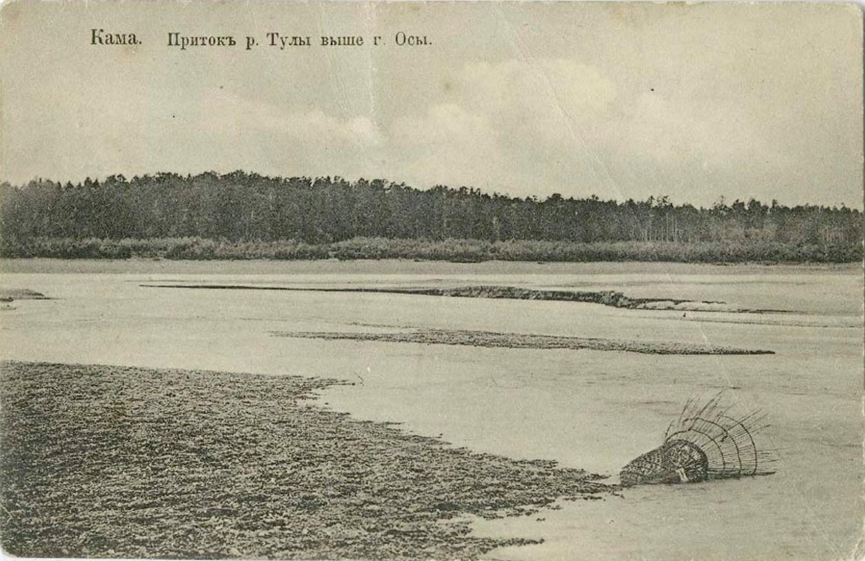 Окрестности города. Приток реки Тулы
