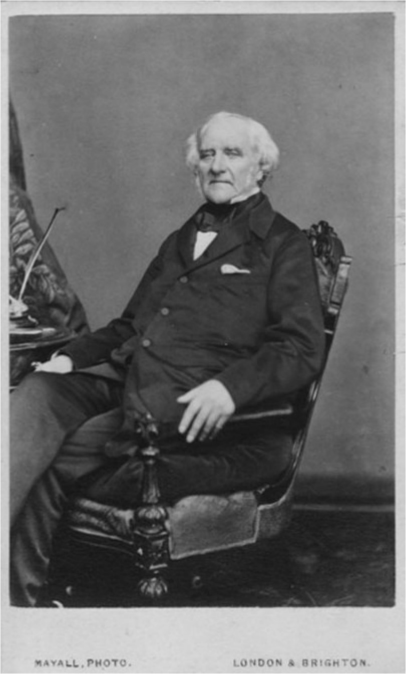 1865. Джордж Пибоди (18 февраля 1795, Саут-Денверз, Массачусетс — 4 ноября 1869, Лондон) — американский , затем и британский коммерсант и банкир, крупный меценат, один из самых богатых людей мира своего времени.