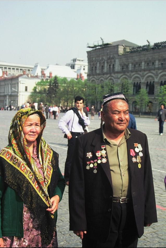 Красная площадь. Гости из Средней Азии