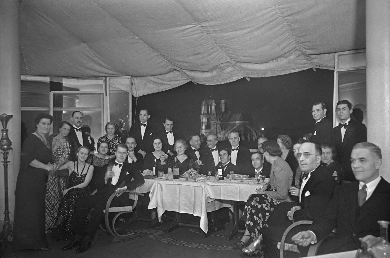 Ужин организаторов в ресторане «Серебряная башня»
