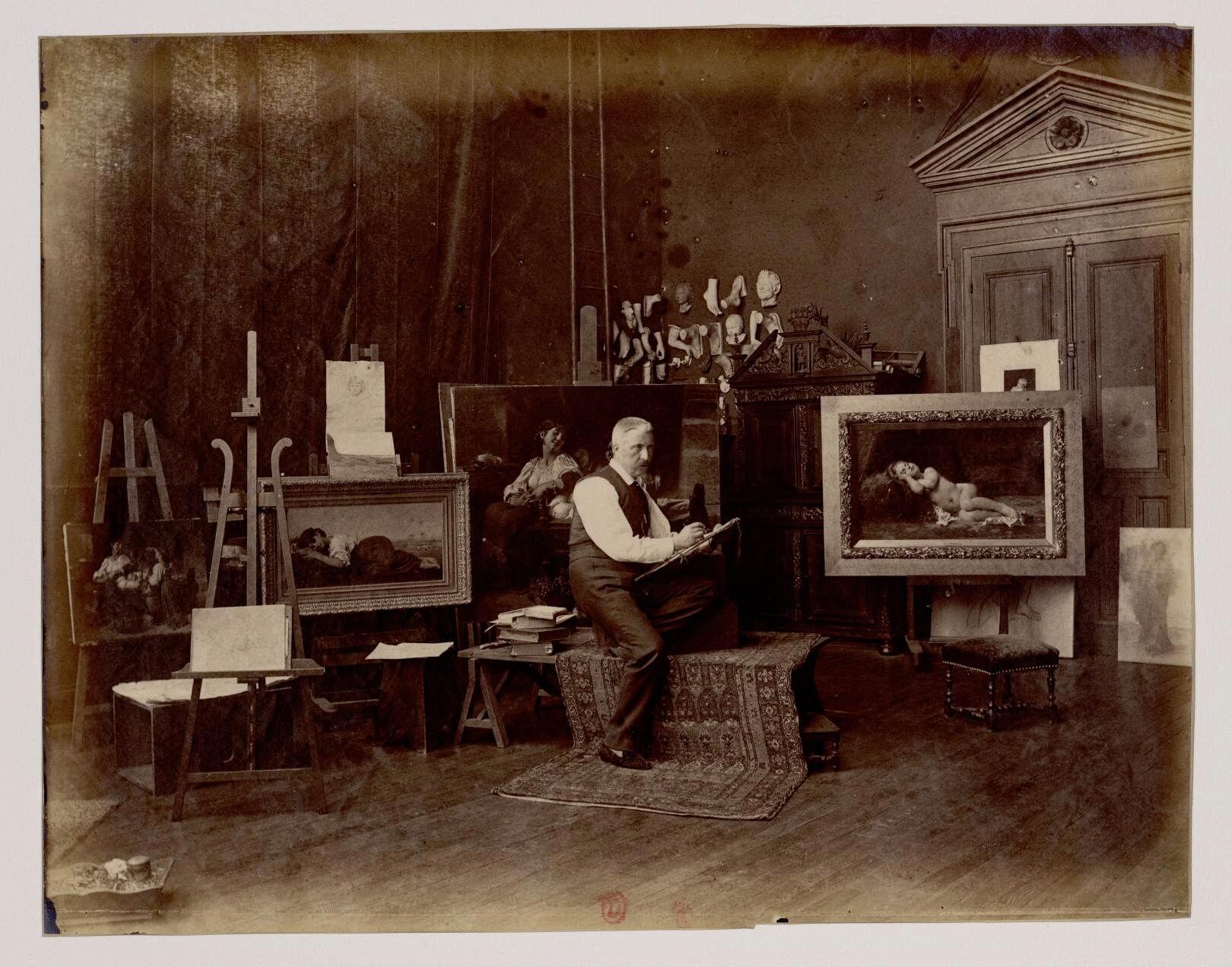 Леон Базиль Перро (1832-1908) - французский живописец академического стиля