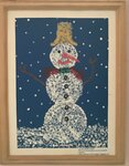 "Орлова Мария, Кайдаш Екатерина (рук. Рябикова Елена Сергеевна) - ""Вот так чудо снеговик"""