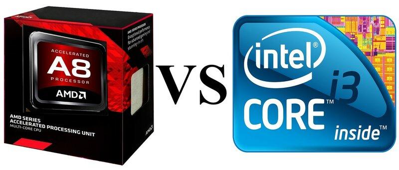 Что лучше: AMD A8 или INTEL i3 6006u (R5 или HD Graphics 520)