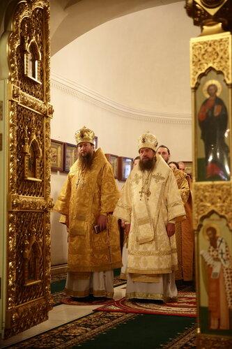 19 декабря. День памяти святителя Николая Чудотворца в Николо-Шартомском монастыре