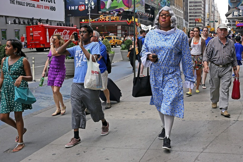 Нью-Йоркские улицы на снимках Рича Дохерти