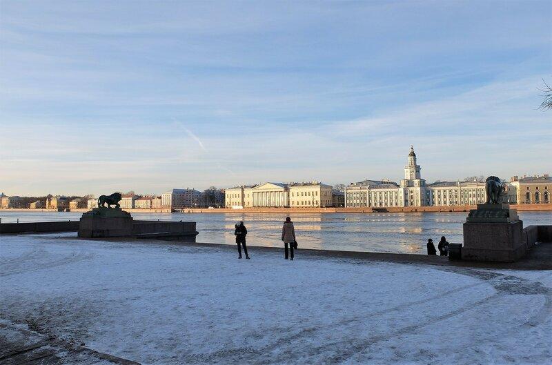 Прогулка по сердцу С-Петербурга. Адмиралтейская набережная и Дворцовая