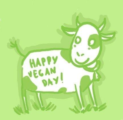 1 ноября. Всемирный день вегана. Поздравляем вас!