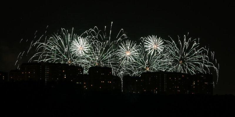 Фестиваль фейерверков 20 августа 2017 г.