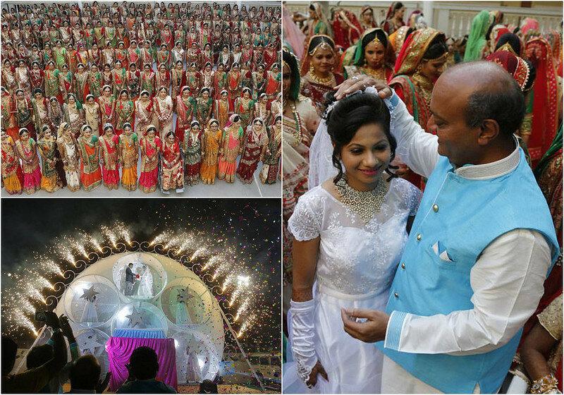 0 17cdc4 8675e7db XL - Массовая свадьба и вдохновляющий пример благородства