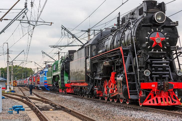 Железнодорожный салон Экспо 1520 (38 фото)