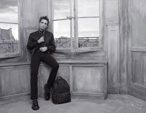 Роберт Патинсон в рекламе Dior Homme