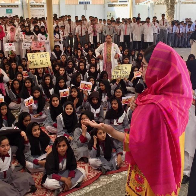 © MalalaFund/facebook     Малала Юсуфзай— настоящая героиня ивдохновительница для девуш