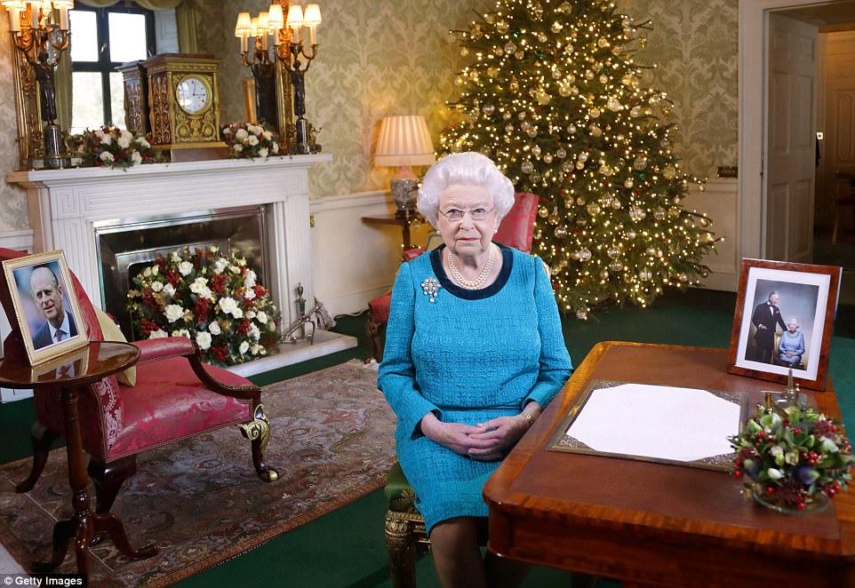 Рождественская речь королевы в 2016 году   Ожидается, что королева весь декабрь будет жить в Ви