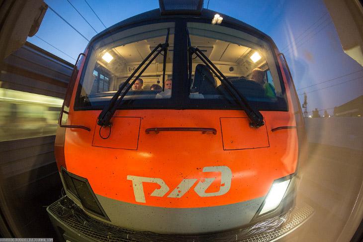 Новый поезд РЖД (29 фото)