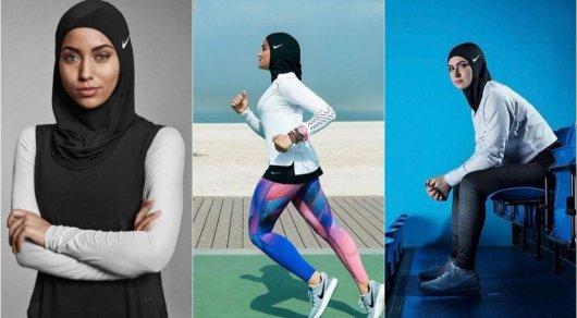 Девушки в традиционной мусульманской одежде уже не раз появлялись в модных съемках, в том числе на о