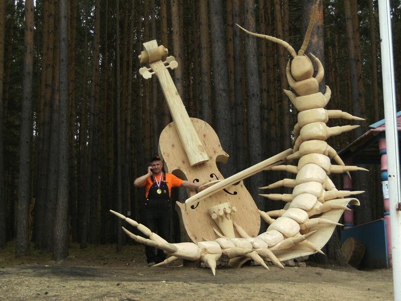 Фестиваль деревянной скульптуры Лукоморье