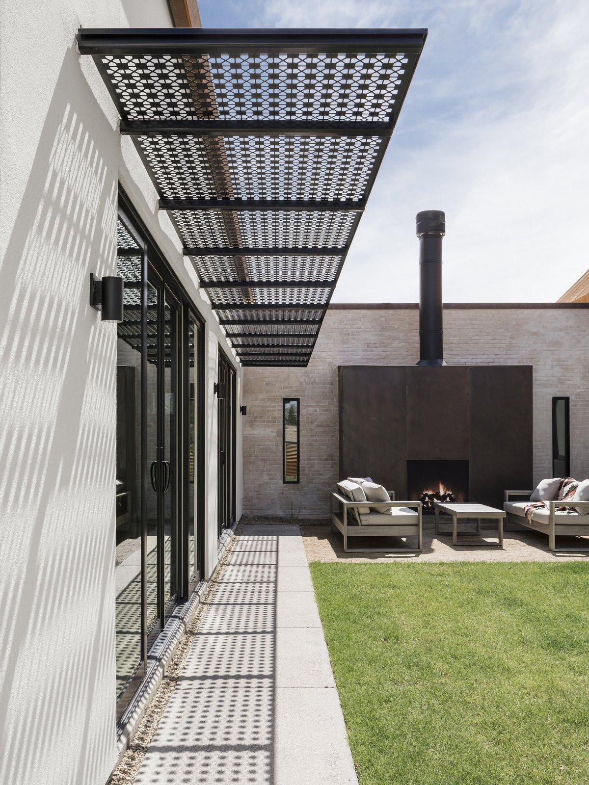 Одноэтажный дом в жаркой Аризоне