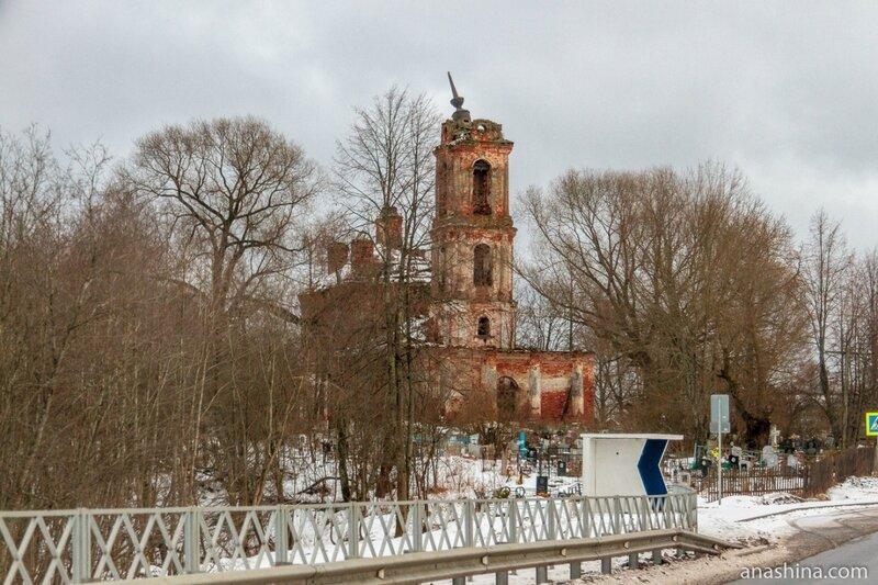 Ярославская область. Церковь Воскресения Христова в Огарково