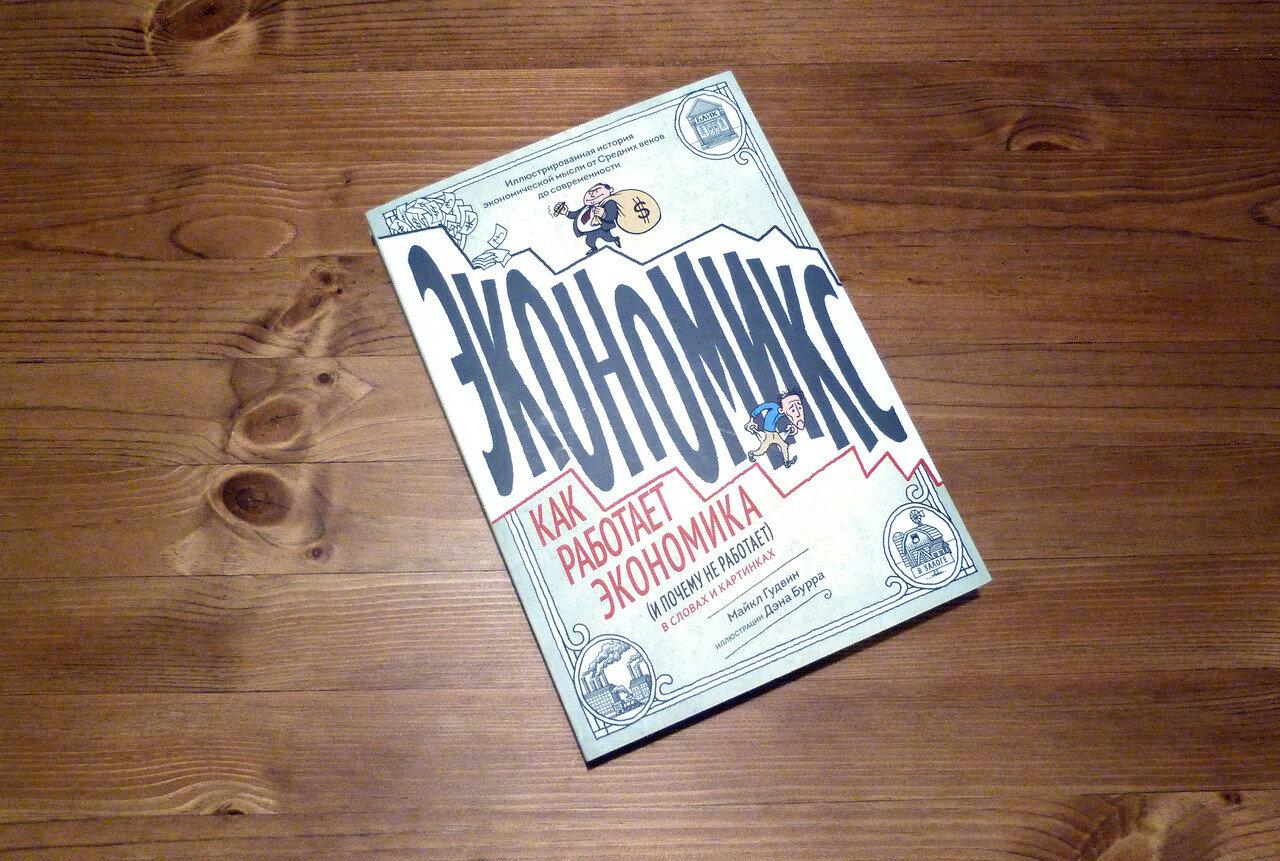 Как работает экономика в картинках. «Экономикс» Майкла Гудвина
