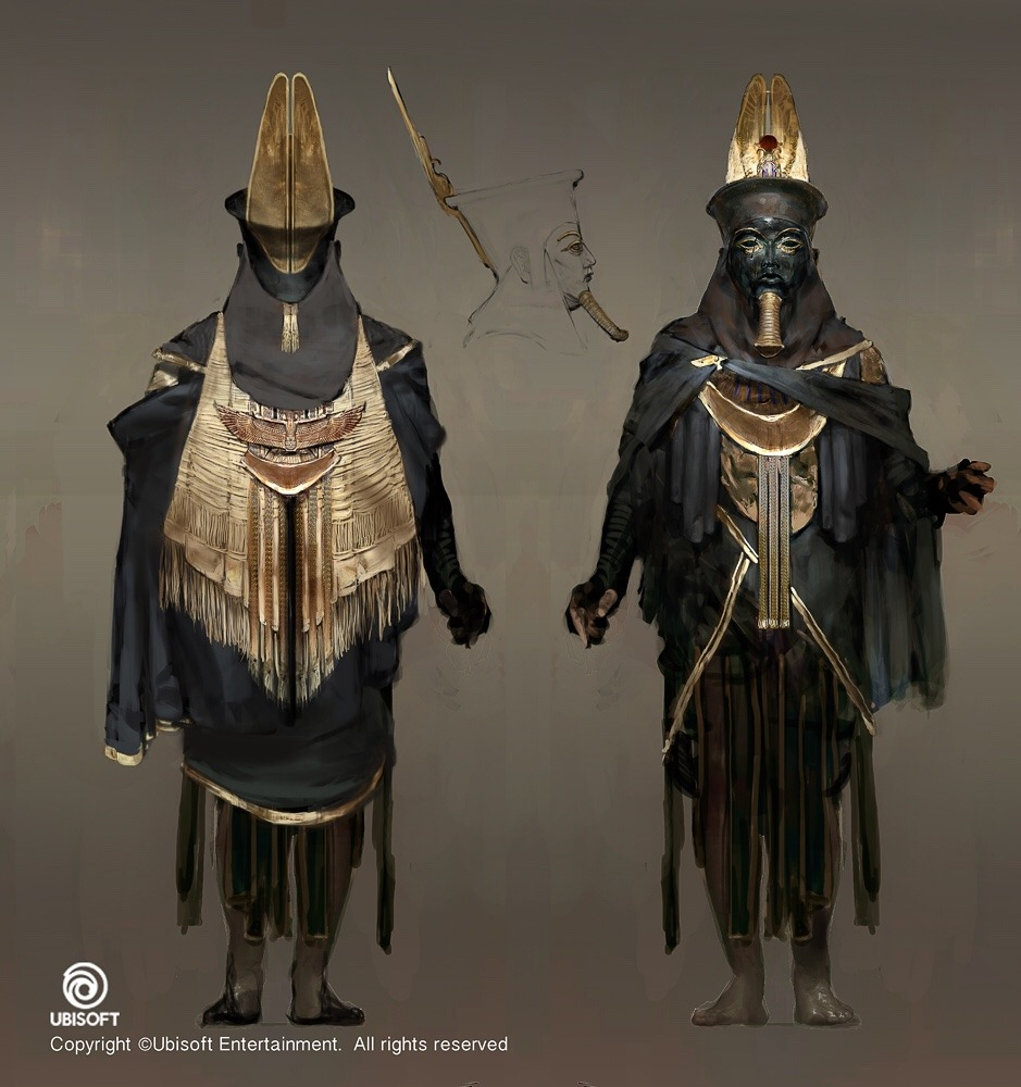 Assassin's Creed Origins Concept Art by Jeff Simpson