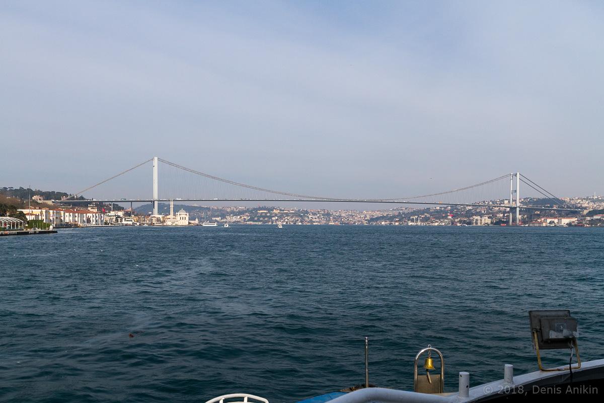 Босфорский мост фото 1