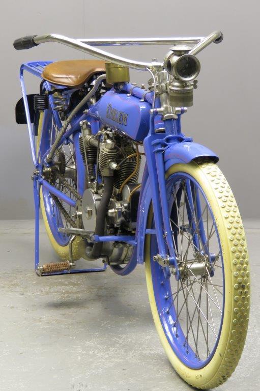 Старинный мотоцикл Emblem Model 106 Little Giant 1917