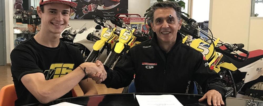 Макар Юрченко переходит в чемпионат Moto3 2018